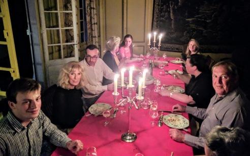 dinner at Laurent