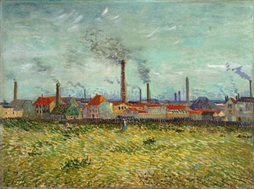 SLAM_Van Gogh_Factories_at_Clichy